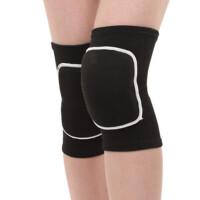 运动护膝保暖防撞防摔舞蹈儿童男女跪地膝盖跳舞海绵足球护具