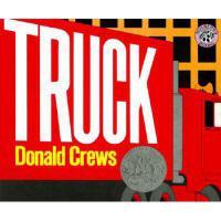Truck 英文原版儿童书 大红卡车(凯迪克银奖,平装)