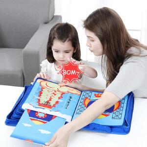 【2件8折 3件75折】jollybaby宝宝太空梦布书婴儿蒙特梭利早教书土豪书
