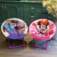 儿童椅子小凳子宝宝餐椅便携户外家用椅幼儿园椅月亮椅折叠靠背椅