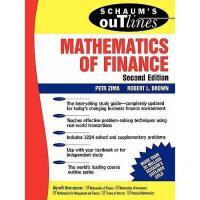 【预订】Schaum's Outline of Mathematics of Finance