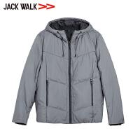 JACKWALK拉夏贝尔旗下男装冬季青年时尚连帽羽绒服外套杰克沃克