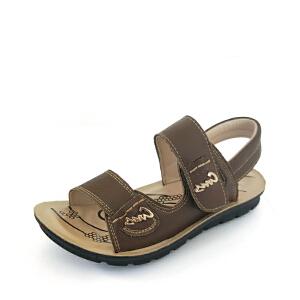 SHOEBOX/鞋柜 男童凉鞋夏季新款儿童鞋男孩防滑透气小学生沙滩鞋