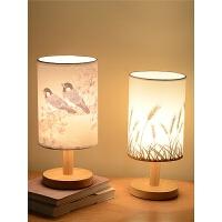 卧室台灯简约现代温馨床头灯喂奶可调光创意小夜灯