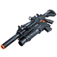 儿童玩具枪绝地吃鸡求生电动连发枪满配M416突击步抢M4冲锋枪