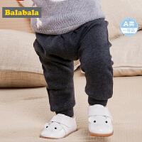 【4折价:39.6】巴拉巴拉童装婴儿裤子儿童春装2018新款小宝宝加绒长裤男A类幼儿
