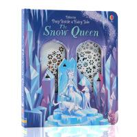 英文原版绘本 偷偷看童话系列 冰雪女王Usborne Peep Inside a Fairy Tale The Sno