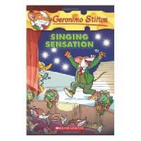 英文原版 老鼠记者39 Geronimo Stilton #39:Singing Sensation
