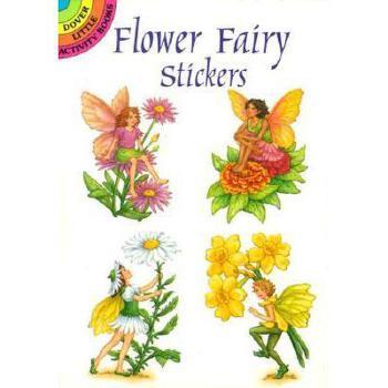 【预订】Garden Fairy Stickers 美国库房发货,通常付款后3-5周到货!