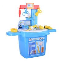 女孩过家家仿真声光打针玩具宝宝医药箱玩具儿童医生玩具套装