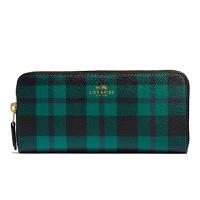 【当当自营】蔻驰(COACH)时尚女士格子风格新款钱包卡包中长款钱包 F55933