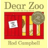 【现货】英文原版Dear Zoo: A Lift-The-Flap Book亲爱的动物园趣味动物园立体:翻翻书 Rod