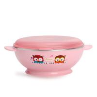 韩国EDISON爱迪生宝宝碗餐具不锈钢汤碗饭碗儿童吃饭碗隔热辅食碗