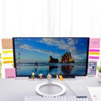 亚克力电脑桌面收纳架透明便利贴板便签贴板屏幕显示器侧边留言板