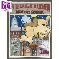 【中商原版】凯迪克:莫里斯.桑达克:厨房之夜狂想曲 In the Night Kitchen 儿童亲子故事绘本 英版平装