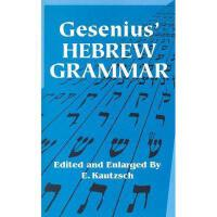 【预订】Gesenius' Hebrew Grammar Y9780486443447