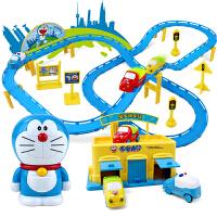 儿童电动轨道车玩具小汽车火车赛道轨道车3 4 5 6岁上