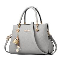 kuansen袋鼠2019新款女欧美时尚手提包单肩斜挎百搭妈妈包真皮质感女士包