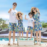 乌龟先森 亲子T恤装 男女儿童亲子装一家三口小熊T恤家庭装夏季新款短袖T恤童装