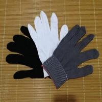 60双白尼龙薄手套小手套芯女士小号细线尼龙劳保手套线手套