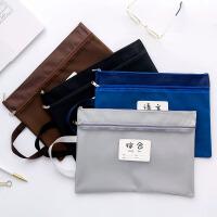 A4小学生科目分类文件袋试卷课本资料收纳袋手提帆布补习袋
