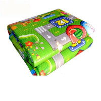 宝宝爬行垫加厚可折叠婴儿童爬爬垫泡沫地垫超大号游戏毯客厅家用