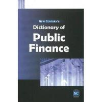 【预订】Dictionary of Public Finance