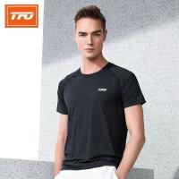 【下单即享7折优惠】TFO 情侣款 19年新款背部透气设计 吸湿排汗 男女 款短袖速干T恤运动T恤