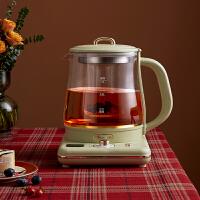 小熊(Bear)养生壶 1.5L迷你烧水壶热水壶电热水壶迷你玻璃花茶壶热牛奶煮茶壶多功能电水壶带滤网 YSH-D15U2