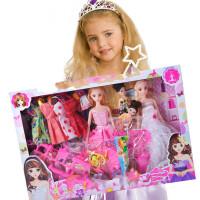 仿真洋娃娃礼盒套装换装女孩公主美人鱼儿童玩具城堡梦想豪宅巴比 其他尺寸