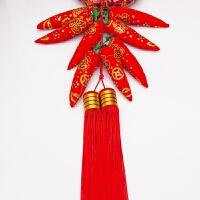 装饰用品年年有余鱼挂件春节中国结过年元旦客厅婚房节日挂饰