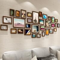 相框墙挂墙创意组合悬挂欧式相片墙简约现代客厅网格照片墙装饰