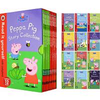小猪佩奇分级读物 英文原版 Peppa Pig:Read It Yourself with Ladybird Level 1 Level 2 粉红猪小妹 12册