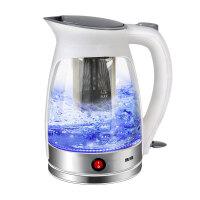 玻璃电热水壶保温烧水壶煮茶器花茶养生壶大电茶壶