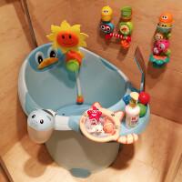 婴儿洗澡盆小孩泡澡桶浴盆 宝宝洗澡桶可坐儿童浴桶保温