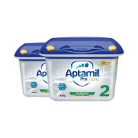Aptamil 德国原装进口 爱他美白金版奶粉 2段 6-10个月 800g 2罐装正品保障 保税仓发货