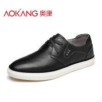 奥康男鞋 新款男士休闲鞋舒适低帮鞋平底板鞋日常休闲男鞋