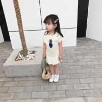 女童夏装童装裙子女宝宝洋气连衣裙儿童小女孩公主裙