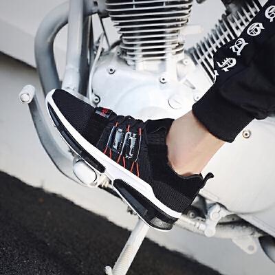 运动鞋男鞋夏季新款网鞋男士跑步鞋男韩版潮流时尚潮鞋透气网布鞋男学生慢跑旅游鞋子 男2018