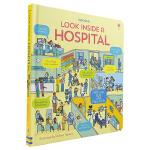 【中商原版】尤斯伯恩看里面系列 医院 英文原版 Look Inside a Hospital 翻翻纸板书 儿童科普 百