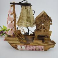 木屋风车音乐盒帆船台灯创意环保小夜灯小礼品送女朋友生日节日礼物SN8838