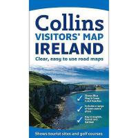 【预订】Collins Ireland Visitors' Map