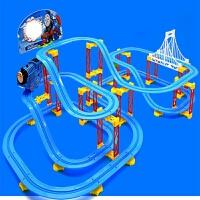 维莱 拼装轨道益智玩具 轨道火车套装 小火车带音乐 儿童电动玩具车 A333-202