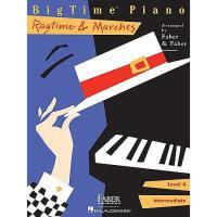 【预订】BigTime Piano, Level 4, Ragtime & Marches