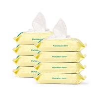 宝宝专用带盖80抽X8袋 棉婴儿湿巾 湿纸巾