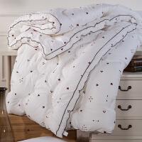 【年货狂欢,限时5折抢】多喜爱家纺冬被子保暖双人被芯单人被子全棉被芯床上用品魔方七孔