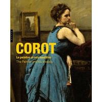 【中商原版】【法��法文版】科�_���� 法文原版 Corot : Le peintre et ses modeles �M口