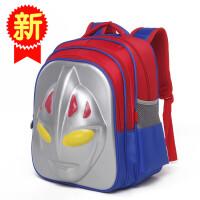 新款3D儿童小学生书包男奥特曼卡通超人防水背包幼儿园学前班宝宝
