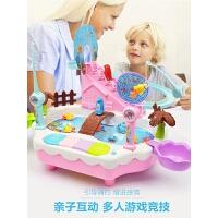 宝宝电动小猫玩具套装儿童磁性1-3-6岁小孩爬楼梯男 女孩