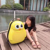 儿童行李箱可坐骑女小孩卡通旅游皮箱可坐旅行箱女童宝宝拉杆箱男 +背包